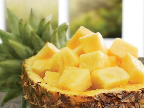 ananas smoothie tarifi
