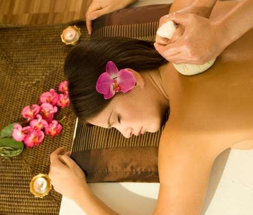 bitkisel sıcak yağ masajı