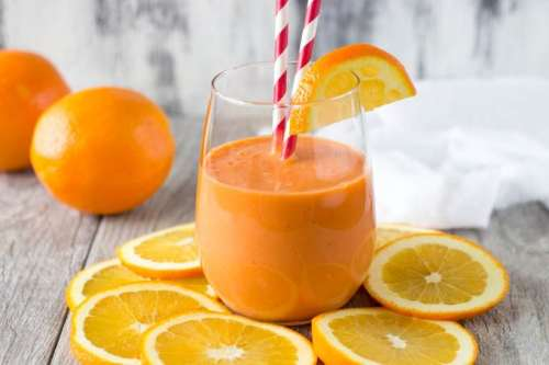 portakallı detoks suyu içeceği smoothie tarifi