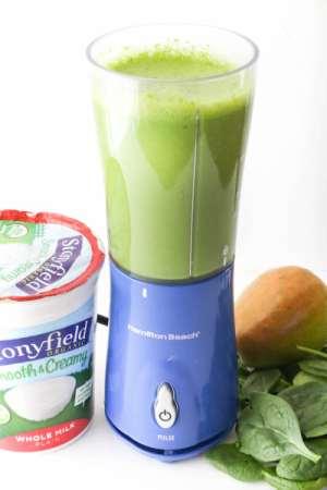enerji veren içecekler armut smoothie