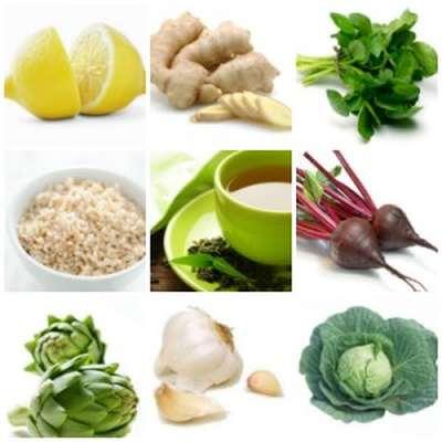 Şok detoks diyetindeki yiyecekler