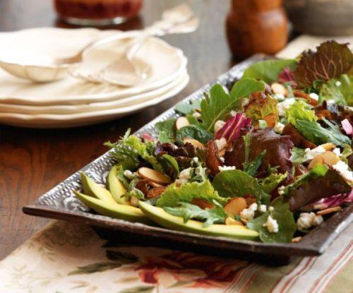 kaliforniya california salatası tarifi