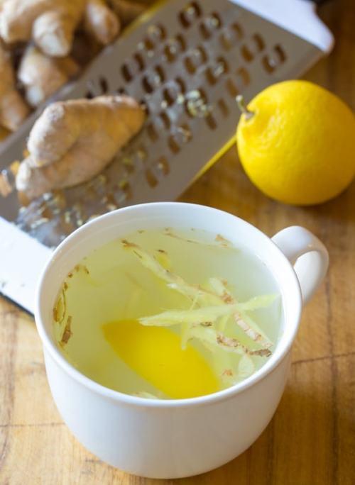 Limon zencefil zayıflama çayı tarifi