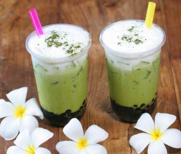 sütlü yeşil çay